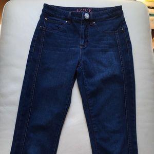 Love Premium Denim Dark Wash Kylie High Waist Jean